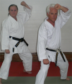 Assistant Instructors Carla Lam & Don Fearn